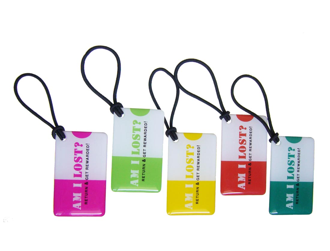 AmILost Jelly Tags