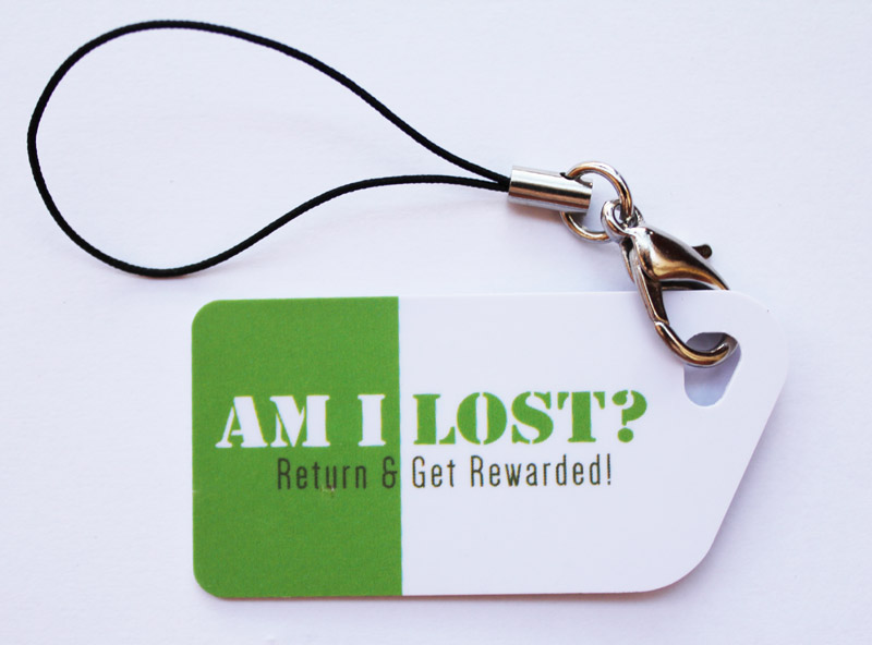 AmILost Key Card