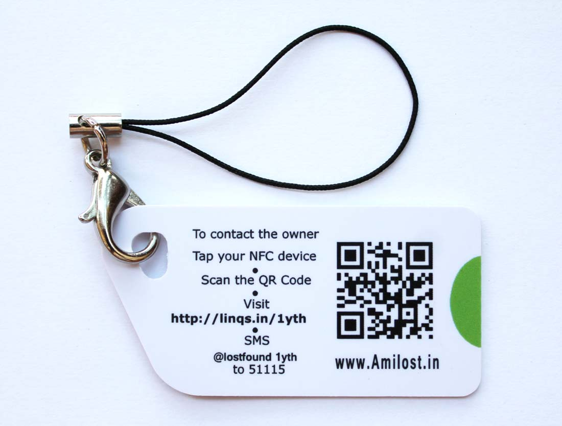AmILost Key Card Tag